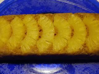 Dolce leggero all'ananas