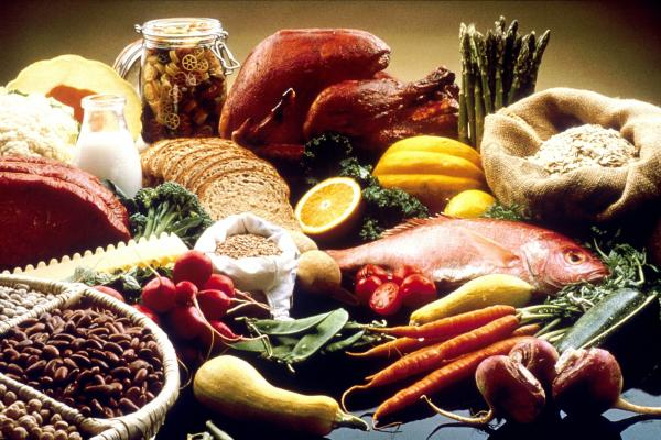 alimentazione varia e sana