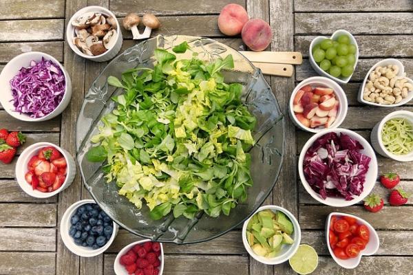 frutta e verdura sono ricche di fibre