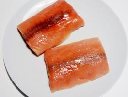 cuori di salmone surgelati