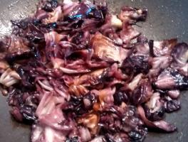cuocere il radicchio in padella