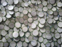 tagliare le zucchine a rondelle