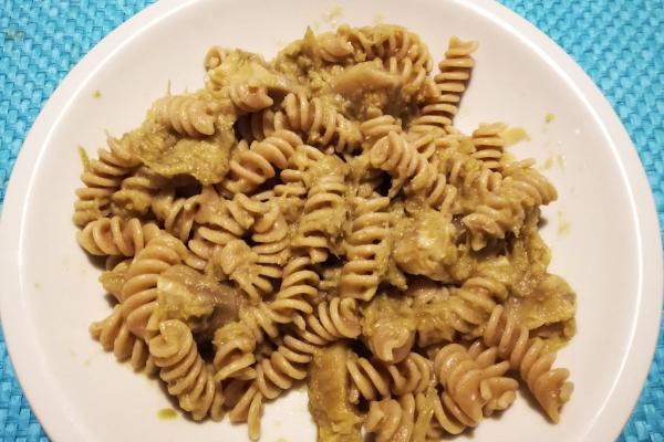 pasta con carciofi ricetta leggera e veloce